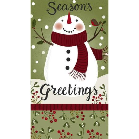 Paper Guest Towel, 15 count, Season's Greetings