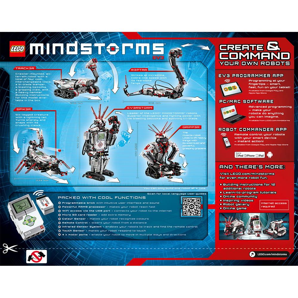 Lego Mindstorms Lego Mindstorms Ev3 31313 Walmart