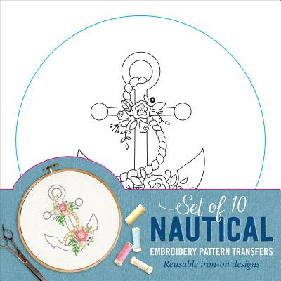 Nautical Embroidery Pattern Transfers