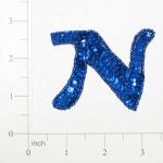 Sequin Letter (Expo Int'l Letter N Sequin Applique)
