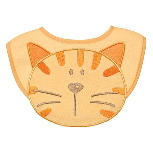 iPlay Cotton Animal Bib - Cat