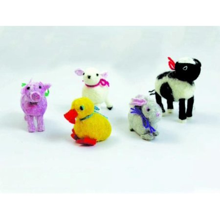 Felted Farm Animals - Craft Kit by Harrisville Designs (F596)