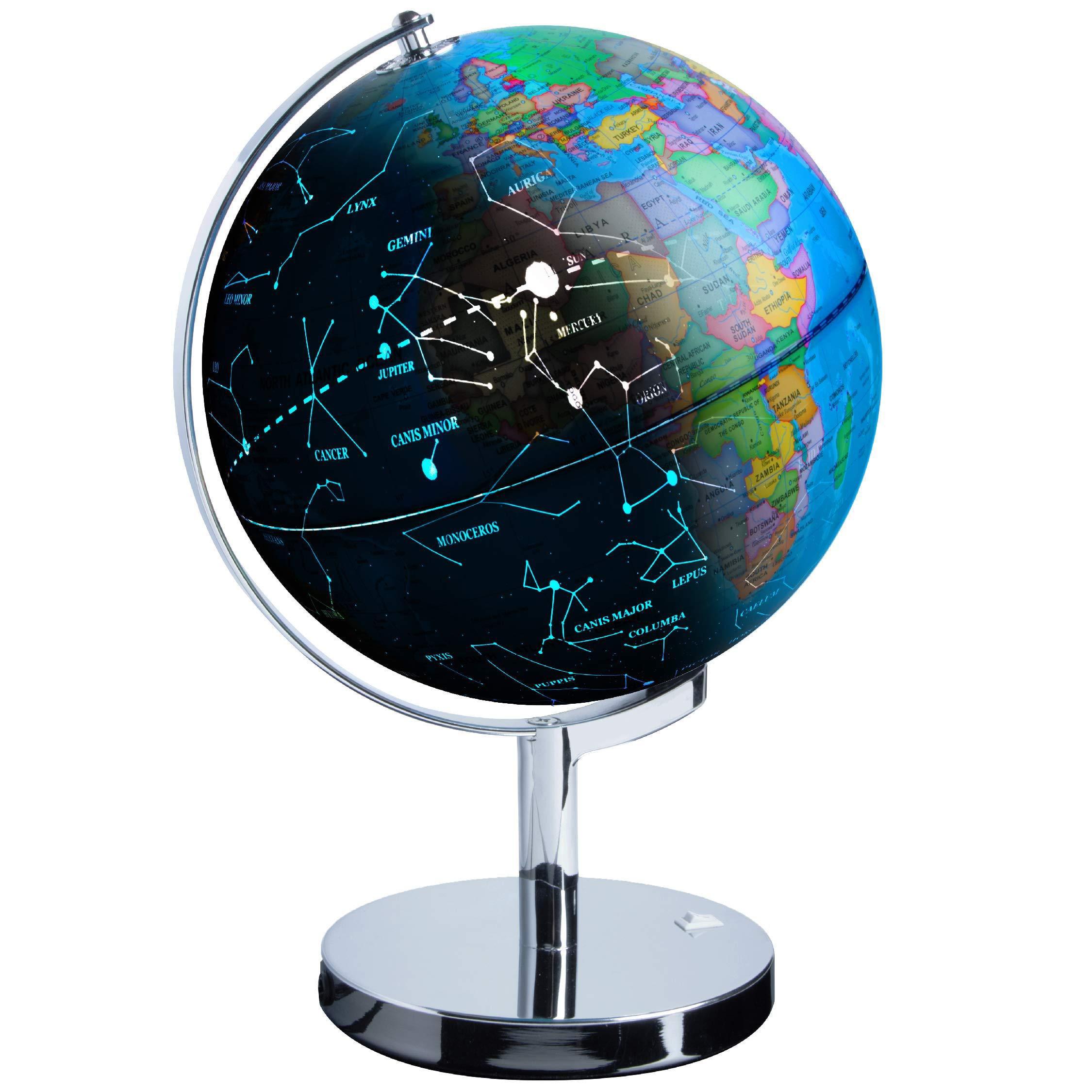 Usa Toyz 3 In 1 Interactive Constellation And World Globe For Child Learning Unisex Walmart Com Walmart Com
