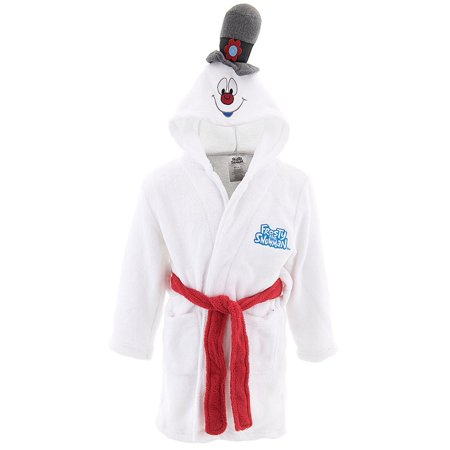 Frosty the Snowman Plush Cozy Robe with Hat (Boys & Girls)