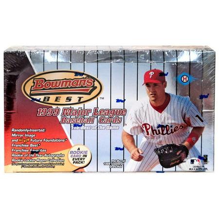 MLB 1999 Bowman's Best Trading Card HOBBY Box