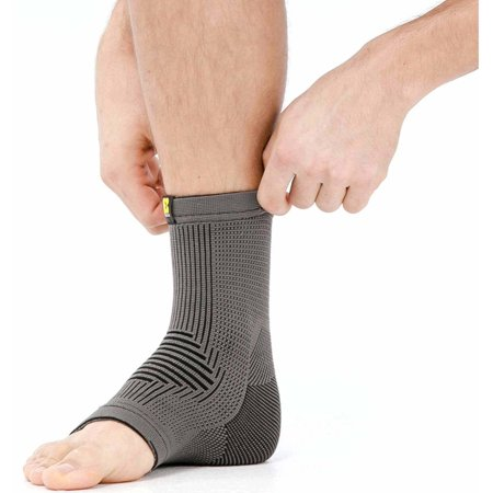 Dynamic Sleeve - Bracoo PerformBoost Ankle Sleeve,Dynamic Compression Support for Injuries, Medium (9