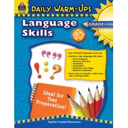 Daily Warm-Ups: Daily Warm-Ups: Language Skills Grade 2 (Other)