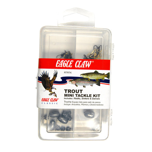 Eagle Claw Trout Fishing Kit