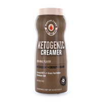 Rapid Fire Ketogenic Creamer with MCTs, Grass Fed Butter, Himalayan Pink Salt, Keto Diet, 8.5 oz., 20 Servings