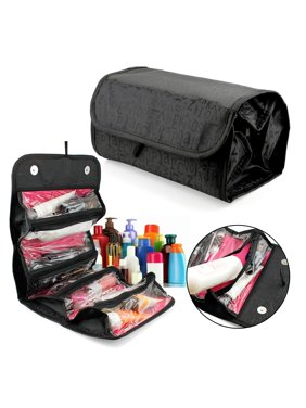 c09143817d Product Image 4 Zippered Compartment Makeup Toiletry Cosmetics Medicine  Shaving Accessory Kit Travle Bag Organizer