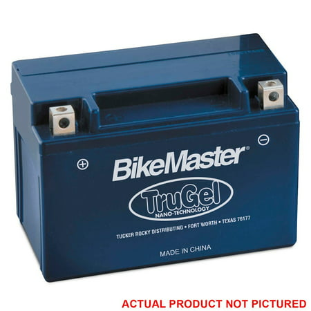 TruGel Battery, Has a much longer storage life on the shelf or in the bike By