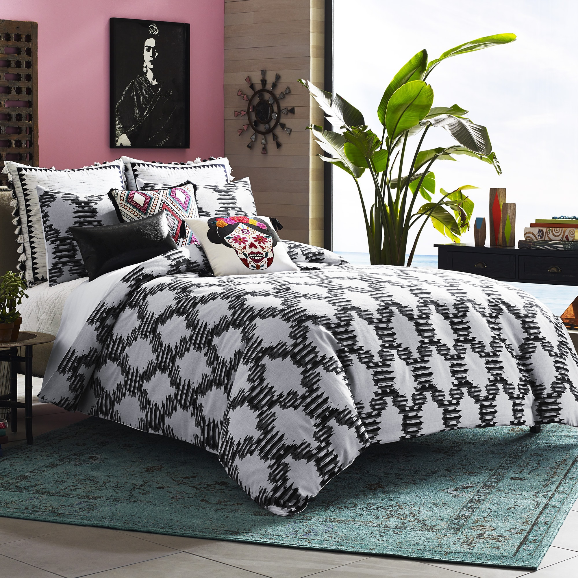 Ellery Homestyles Blissliving Home Zocalo 3-piece Duvet Cover Set