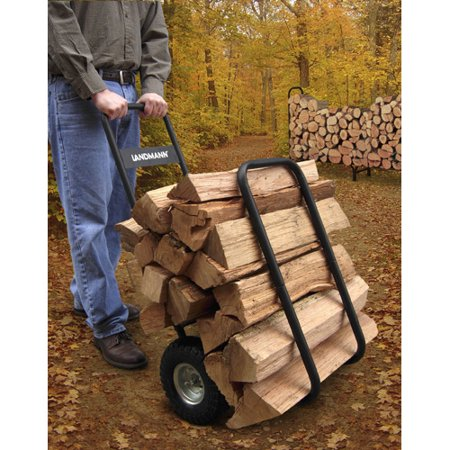 Landmann Log Rack Caddy W  Cover