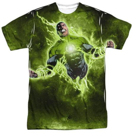 Green Lantern DC Comics Super Sinestro Lantern Corps Adult 2-Sided Print T-Shirt