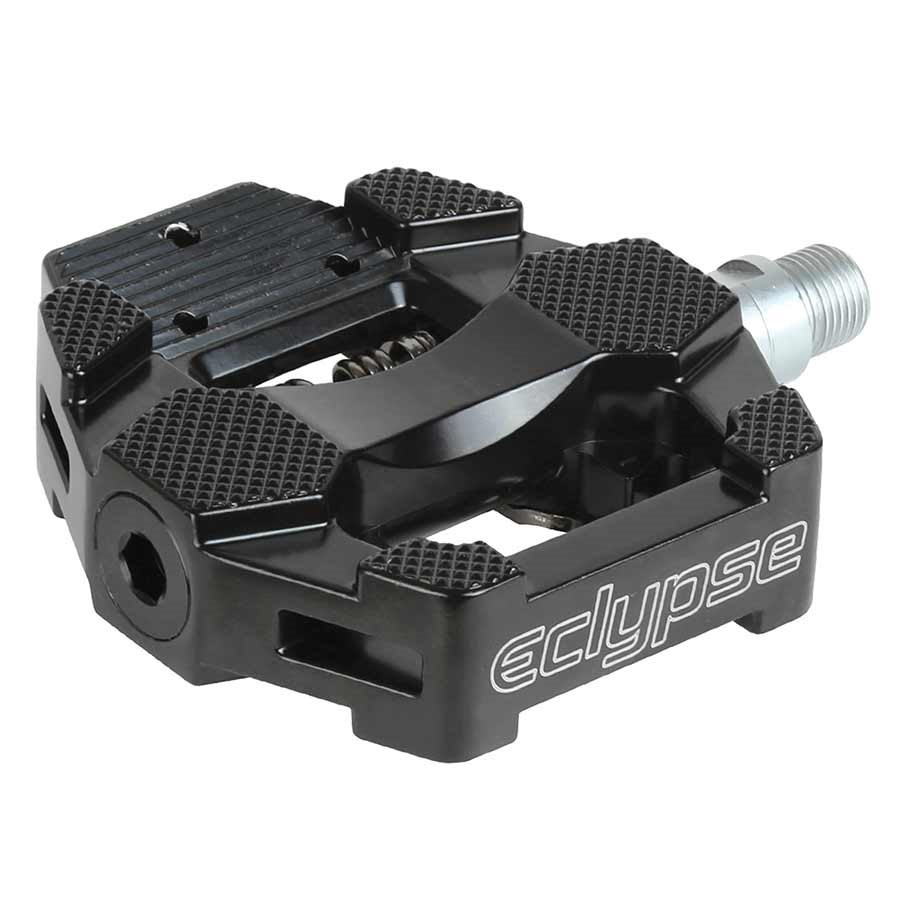 Eclypse, HD Dual Trainer Sport, Exercise bike pedal, SPD/ Toe clips