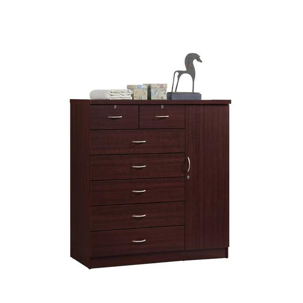 Hodedah 7-Drawer Jumbo Dresser, Multiple Colors