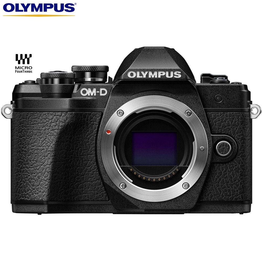 Olympus OM-D E-M10 Mark III Mirrorless Micro Four Thirds Digital Camera Body V207070BU000 – (Certified Refurbished)
