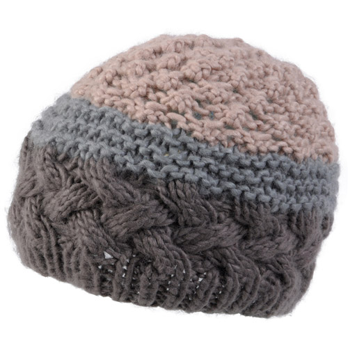 Brinley Co Womens Cable Knit Beanie Hat