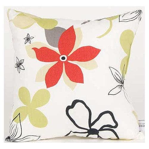 Glenna Jean McKenzie Floral Cotton Throw Pillow