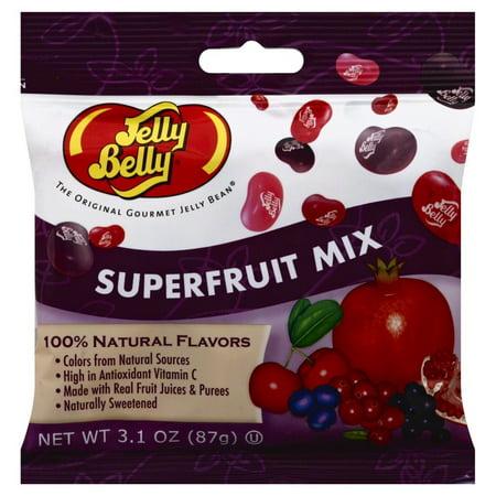 Jelly Belly, Superfruit Mix, 3.1 Oz