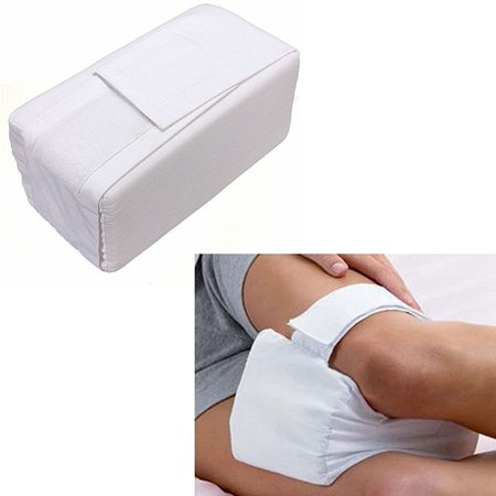 Leg Positioner Pillows Knee Ease Pillow Cushion Pad,Comforts Cotton Cover Leg Pillow Aid Back Leg Pain Support For Pregnancy, Hip, Sciatic Nerve, Leg, Back With Washable (Best Shoes For Knee And Hip Pain)