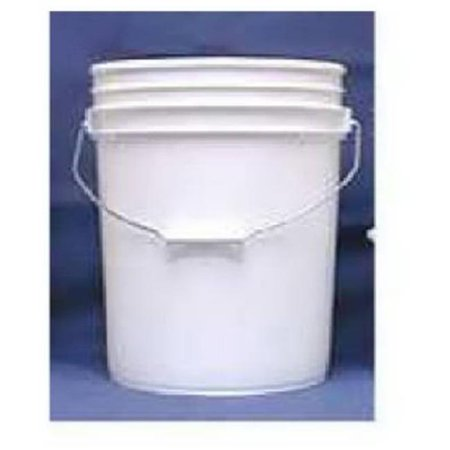 Leaktite 5GLSKD White Plastic Industrial Pail - 5 Gallon