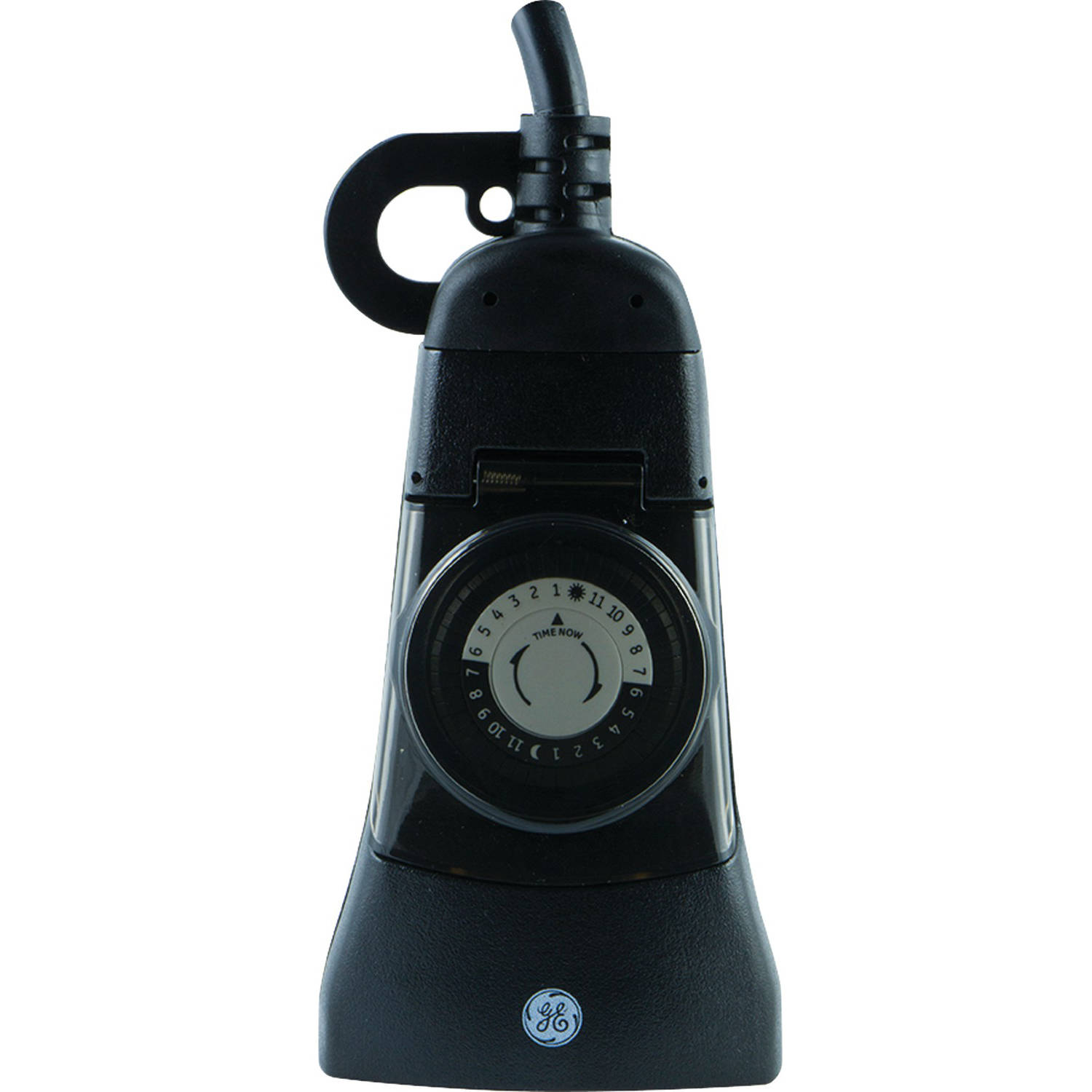 General Electric 15138 24-Hour Mechanical Outdoor 2-Outlet Plug-in Timer by General Electric