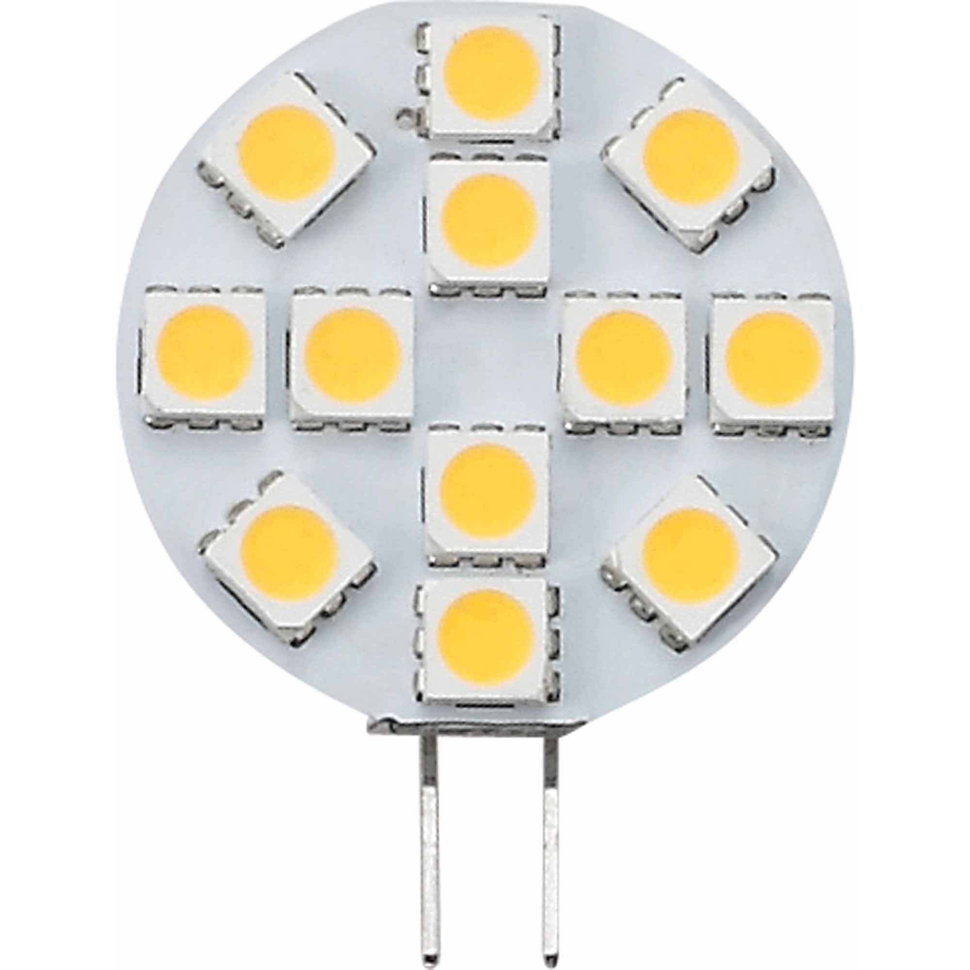 Ming's Mark 12V LED BUlb with G4 Base and L Back Pins, 150 Lumens, Warm White