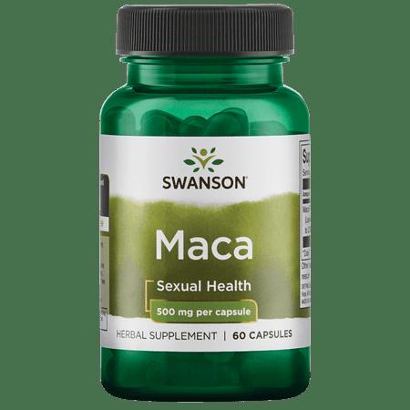 swanson maca 500 mg 60 caps (Mach Cap)