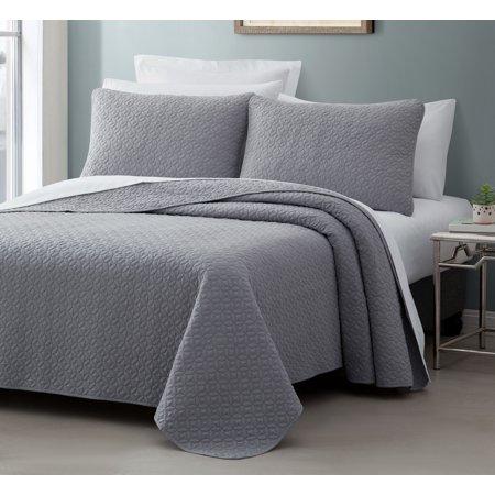Cozy Beddings Titan 2-Piece Bedspread Coverlet Set ()