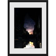 """Marmont Hill """"Under the Stars"""" Surreal Artists Mixed Media Framed Art Print"""