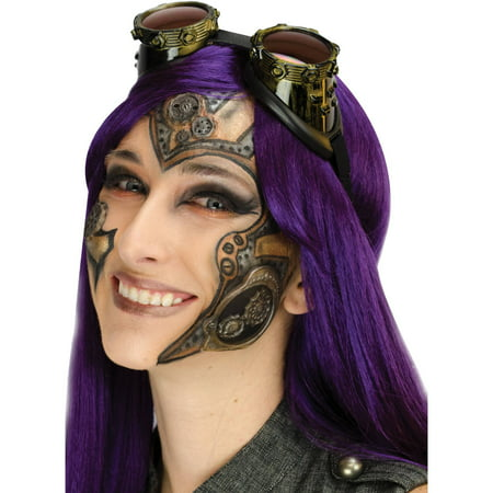 Steampunk Complete 3D FX Makeup Adult Halloween Accessory (Halloween Womens Makeup Ideas)