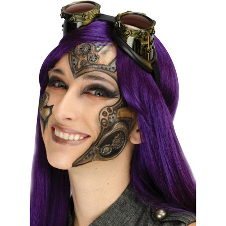 3d Halloween Pics (Steampunk Complete 3D FX Makeup Adult Halloween)