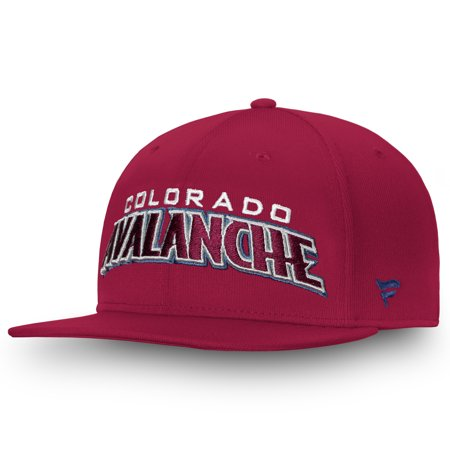 Colorado Avalanche Fanatics Branded Depth Emblem Snapback Adjustable Hat - Burgundy - OSFA