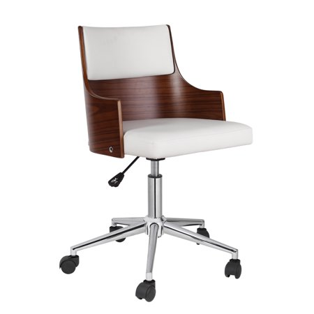 Legs Upholstery (Porthos Home Office Chair With PVC Upholstery, Adjustable Height, 360-degree Swivel And Chrome Steel Legs - Various Colors)