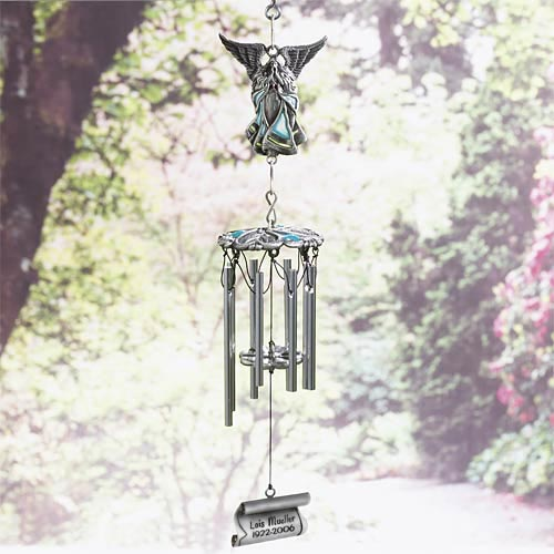 Personalized Whispers from Heaven Wind Chimes