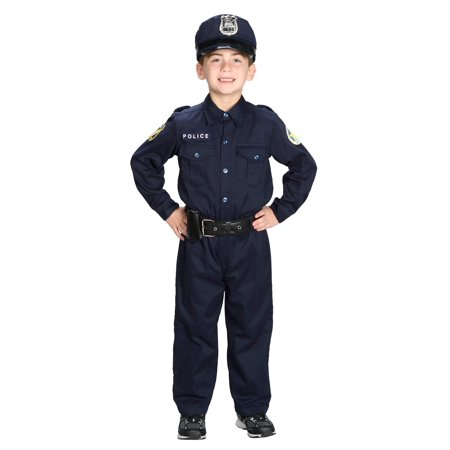 Boys Deluxe Police Officer Costume](Police Officer Adult Costume)