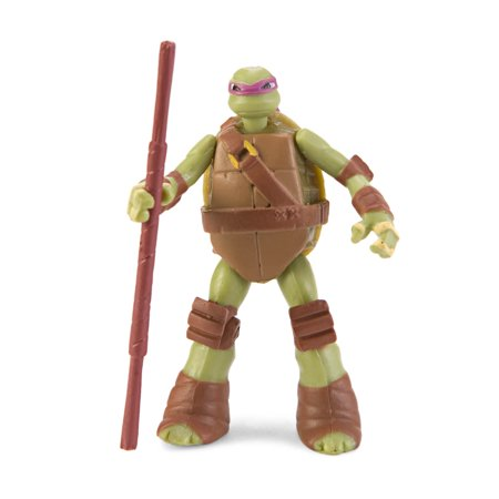 Nickelodeon Teenage Mutant Ninja Turtles Mini Figure - - Teenage Mutant Ninja Turtles Donatello Bo Staff