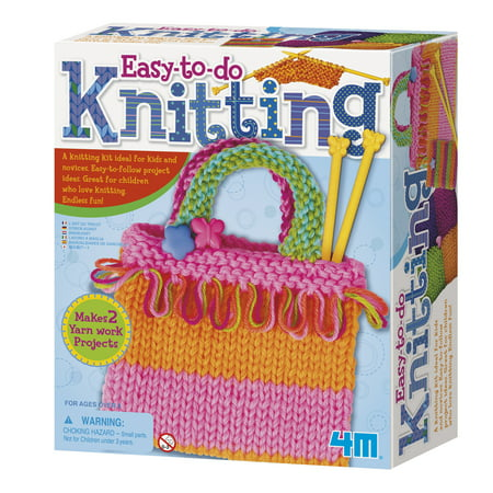 4M Easy-To-Do Knitting Kit](Easy Mother's Day Crafts)