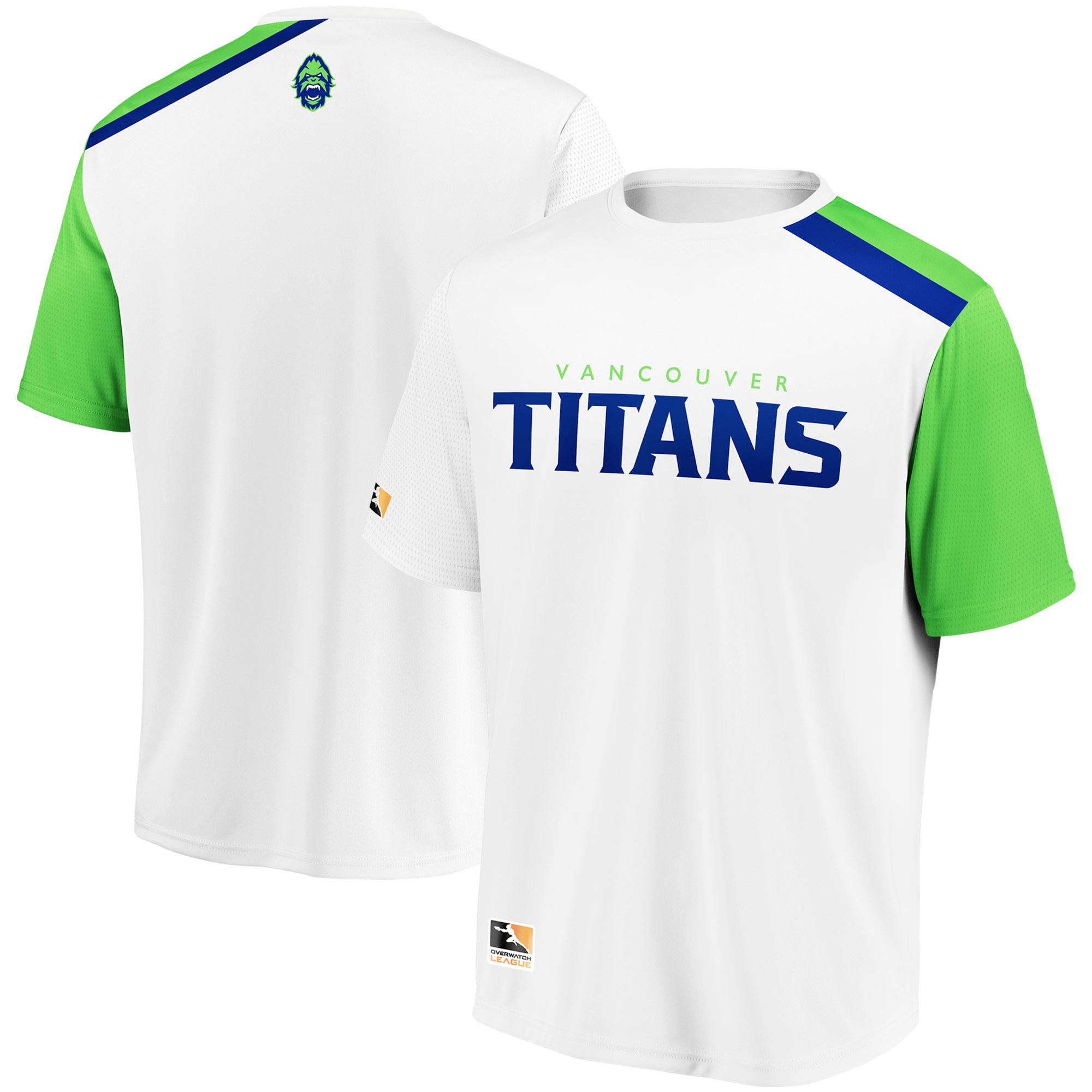 Vancouver Titans Overwatch League Replica Away Jersey - White