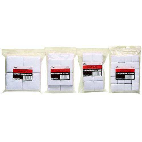 """Kleen-Bore CP19B Super Shooter Cotton Cleaning Patches, 3"""" 12-16ga"""