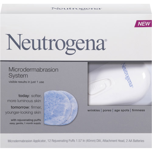 Neutrogena Microdermabrasion Cleansing System, 1ct