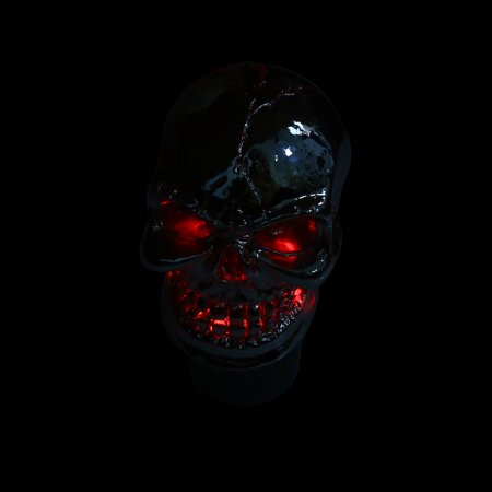 Skull Head Design Colorful LED Light Manual Gear Shift Knob Lever for Auto Car - image 5 of 8