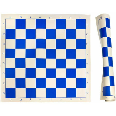 Sterling Games Roll Up Chess Mat, Blue