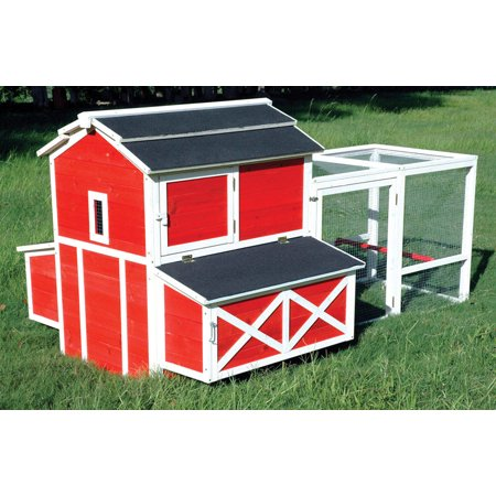 CHICKEN COOP RED BARN by Merry Products MfrPartNo (Building A Chicken Coop In A Barn)