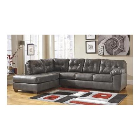 Ashley 20102 16 67 Alliston Sectional Sofa With Left Arm Facing Corner Chaise And