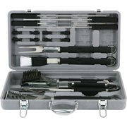 Mr. Bar-B-Q Stainless-Steel with Plastic Handles 18-Piece Tool Set