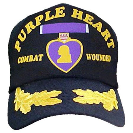Combat Wounded with Purple Heart Cap With Scrambled - Halloween Pub