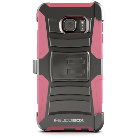 - BUDDIBOX [HSERIES] Galaxy S6 EDGE PLUS Case Heavy Duty Durable Belt Clip Holster Protective Cover Case for Samsung Galaxy S6 EDGE PLUS