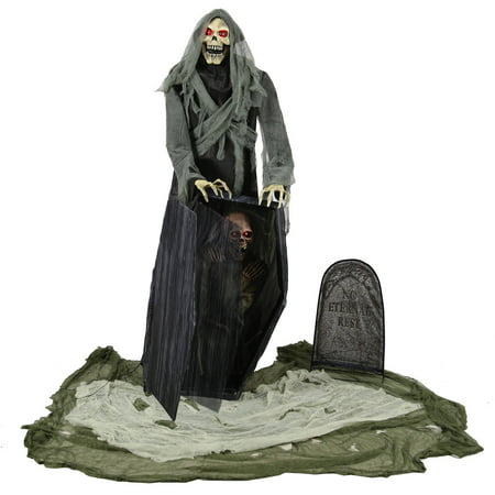 Graveyard Reaper Halloween Decoration](Halloween Graveyard Epitaphs)